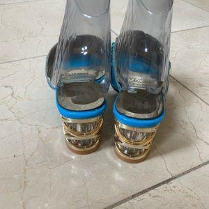 Shoes - New - Trendy Rhinestone Slip-on Sandals